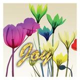 Floral Calm Pop Joy Posters by Albert Koetsier