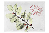 Xmas Holly L297 Posters by Albert Koetsier