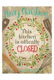 Christmas Kitchen 4 Prints by Melody Hogan