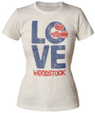 Juniors: Woodstock- Love T-Shirts