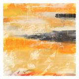 Orange Print by Cynthia Alvarez