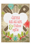 Christmas Kitchen 3 Poster by Melody Hogan