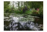 Monet Pond 2 Art by Sarah Butcher