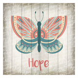 Butterfly Hope Poster by Kimberly Allen