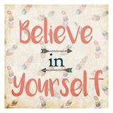 Believe in Yourself Art by Kimberly Allen