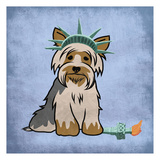 New Yorkie 2 Print by Marcus Prime