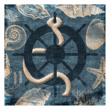 Steering Wheel Blue Poster by Jace Grey