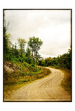 Winding Country Road Print by Suzanne Foschino