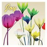 Floral Calm Pop Joy Art by Albert Koetsier