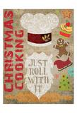 Santas Kitchen 3 Art by Melody Hogan