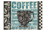 Caffeinated Expressions 2 Prints by Melody Hogan