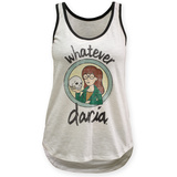 Juniors Tank Top: Daria- Whatever Womens Tank Tops