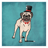 Magical Pug Prints by Marcus Prime