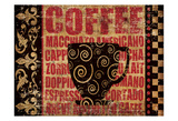 Caffeinated Expressions 3 Prints by Melody Hogan