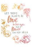 Love 1 Arte por Victoria Brown