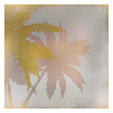 Palms at Sunset 1 Art by Kimberly Allen