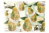 Fresh Pears Poster by Kimberly Allen