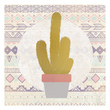Ethnic Cactus 1 Prints by Kimberly Allen