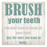 Keeping Teeth Affiches par Kimberly Allen