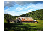 Country Barn 3 Posters by Suzanne Foschino