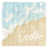 Seaside Soothe Poster by Kimberly Allen