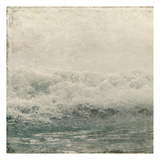 Ocean Storm 1 Print by Kimberly Allen