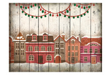 Christmas Village Prints by Kimberly Allen