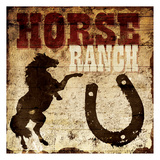 Horse Ranch Prints by Jace Grey