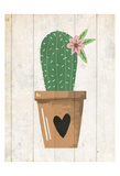 Love Cactus 2 Prints by Kimberly Allen
