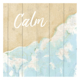 Seaside Calm Print by Kimberly Allen