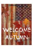 Fall Time USA Print by Sheldon Lewis