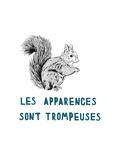 Les Apparences Sont Trompeuses Premium Giclee Print by Natasha Marie