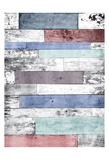 Pastel Wood Print by Jace Grey