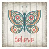 Butterfly Believe Prints by Kimberly Allen