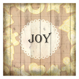 Christmas Joy Poster by Kimberly Allen