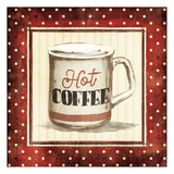 Hot Coffee Prints by Jace Grey