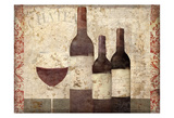 Vintage Wine Posters by Kimberly Allen