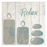 Relaxing Meditation Print by Kimberly Allen