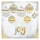 Joy Christmas Posters by Kimberly Allen