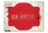 Bon Appetit Art by Kimberly Allen