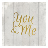 You and Me Posters by Kimberly Allen