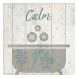 Calming Meditation Posters by Kimberly Allen