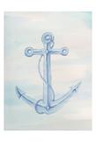 Coastal Anchor 2 Prints by Pam Varacek