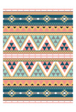 Cotton Candy Aztec Prints by Jace Grey