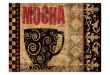 Mocha Chocolat 2 Posters by Melody Hogan