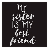 Sisterly Friends Prints by Jelena Matic