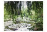 Monets Tranquil Gardens Prints by Sarah Butcher