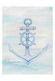 Coastal Anchor 1 Print by Pam Varacek