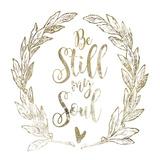 Soul Be Still 2 Prints by Melody Hogan