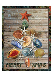 Merry Coastal 1 Print by Melody Hogan